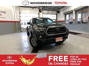 2018 Toyota Tacoma SR5|SAFETY-SENSE|R-CAM|H-SEATS|B-TOOTH|LOW KM
