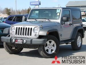 2014 Jeep Wrangler Sport 6-SPEED | AIR | ALLOYS | BLUETOOTH