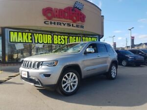2017 Jeep Grand Cherokee Limited NAVI PANO ROOF LEATHER R CAM