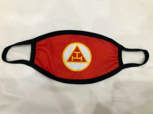 ROYAL ARCH FACEMASK, HOLY ROYAL ARCH MASON FACEMASK, RAM FACE MASK