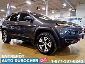 2016 Jeep Cherokee TRAILHAWK - 4X4 - AUTOMATIQUE - CUIR