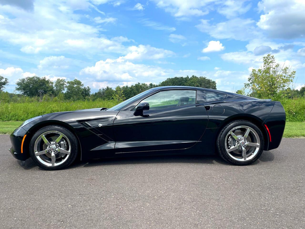 2014 Black Chevrolet Corvette Coupe 3LT | C7 Corvette Photo 7