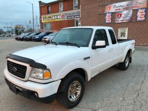 2008 Ford Ranger Sport/4L/NO ACCIDENT/CERTIFIED/WARRANTY INCLUDE