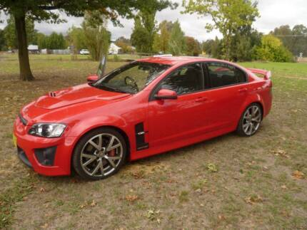 2006 HSV GTS Sedan, 6.0 LITRE MANUAL Holbrook Greater Hume Area Preview