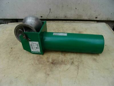 Greenlee 441 5 Inch Feeding Sheave Cable Wire Tugger Puller 2