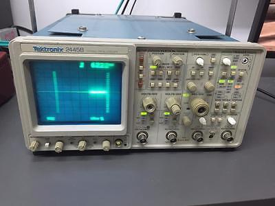 Tektronix - 2445b - 4 Channel 200mhz Analog Oscilloscope