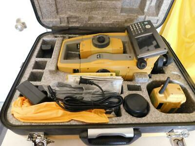 Topcon Ps-103a Total Station Robotic Power Station With Rc5 Radio Atp1 Prism