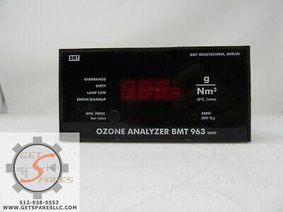 Bmt 963 Ozone Analyzer Bmt Messtechnik