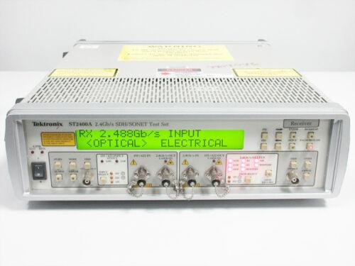 TEKTRONIX ST2400A STM-16/OC-48 2.4-GBPS TEST SET