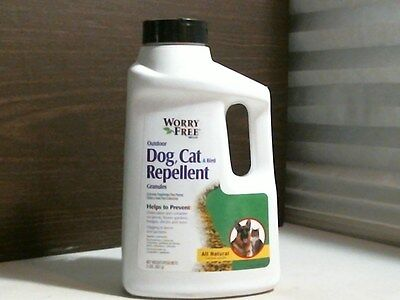Lilly Miller Worry Free Dog, Cat & Bird Repellent Granules 2 LBS.