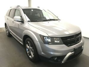 2017 Dodge Journey Crossroad 7 PASSENGER, AWD, HEATED LEATHER...