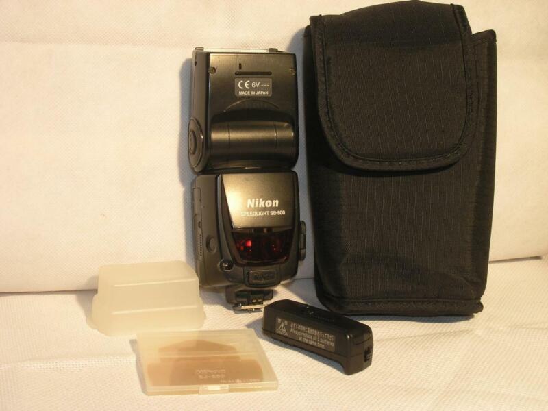 Nikon SB-800 Shoe-Mount Speedlight Flash Tested And Working