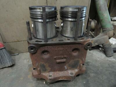 John Deere 620 630 Cylinder Block And Pistons A5620r