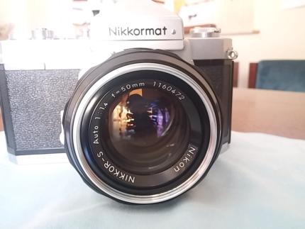 Nikkormat old film camera