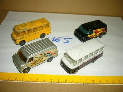 Konvolut Nr. 465 Modellautos CORGI Mercedes Benz Bus, Chevrolet Van, U.S. Van, B gebraucht kaufen  Falkensee