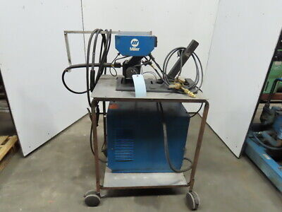 Miller Cp200 S-52e 200-230460v 200a Wire Feed Welder On Cart