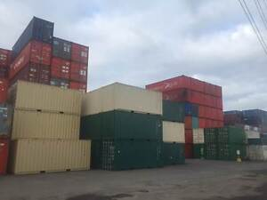 SHIPPING CONTAINERS FOR SALE 20ft & 40ft Port Melbourne Port Phillip Preview