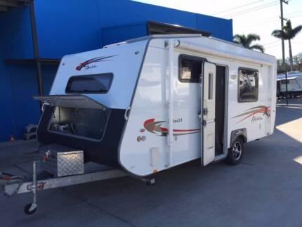 2012 Avan Frances Ensuite shower / toilet Caravan SOLAR! Clontarf Redcliffe Area Preview