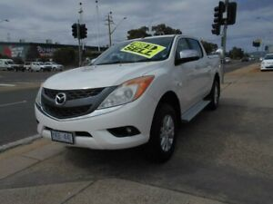 2014 Mazda BT-50 UP0YF1 XTR 4x2 Hi-Rider White 6 Speed Sports Automatic Utility Fyshwick South Canberra Preview