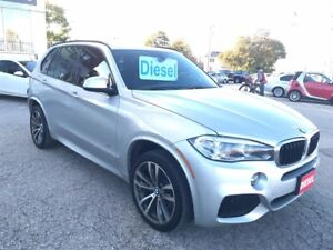 2015 BMW X5 xDrive35d/M-SPORT/CERTIFIED/WARRANTY INCLUDED