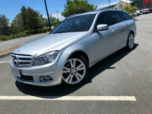 2009 Mercedes-Benz C200 Avantgarde Kompressor Silver 5 Speed Automatic Wagon Arundel Gold Coast City Preview