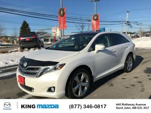 2015 Toyota Venza Limited AWD...V6..HEATED LEATHER..VISTA ROOF..