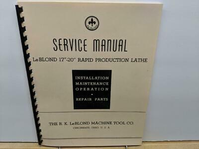 "CLAUSING Colchester 13/"" 8000 Series Metal Lathe SERVICE /& REPAIR Manual 1061"