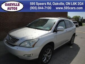 2009 Lexus RX 350 navi-sunroof-backup cam-pebble beach