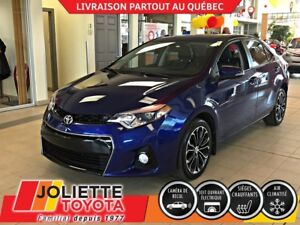 2014 Toyota Corolla S / TOIT OUVRANT / MAGS / SIEGES CHAUFFANTS