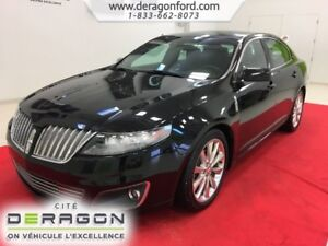 2012 Lincoln MKS AWD ECOBOOST NAV TOIT OUVRANT CAMERA MAGS 20P A