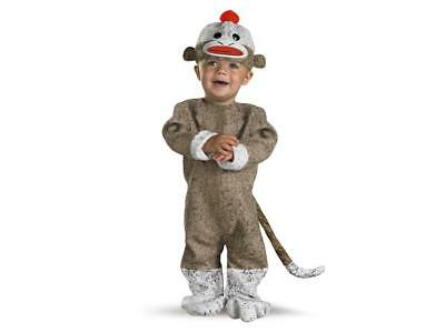 Sock Monkey Infant Costume Size 12-18 months (Sock Monkey Infant Costume)
