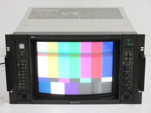 SONY BVM-1310 HR TRINITRON 13 INCH COLOR NTSC VIDEO PRODUCTION MONITOR UNIT I
