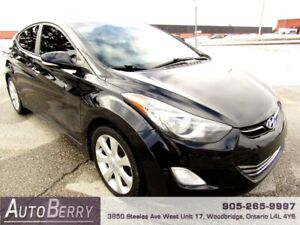 2012 Hyundai Elantra Limited **CERTIFIED ACCIDENT FREE** $8,999
