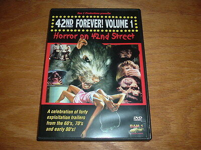 42ND STREET FOREVER DVD 70's 80's GRINDHOUSE MOVIE CLIPS HAPPY HALLOWEEN GLOBAL (Happy Halloween 80s)