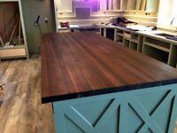 Custom Crafted Butcher Block Countertops