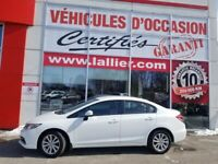 2013 Honda Civic Sdn LX**AUTOMATIQUE**MAGS**BANCS CHAUFFANTS**
