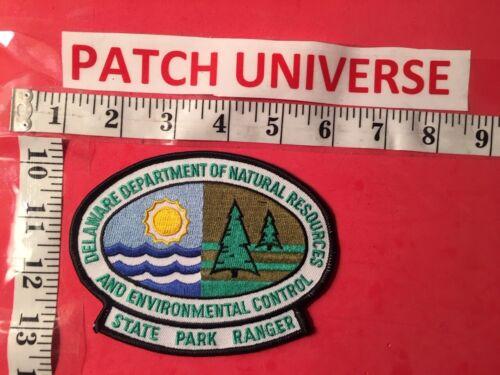DELAWARE DEPT OF NATURAL  RESOURCES  STATE PARK RANGER  SHOULDER PATCH  K024