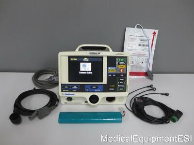 Physio-control Lifepak 20 Biphasic 3 Lead Ecg Pacing Analyze