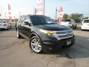 2013 Ford Explorer 4X4 GPS NAV PANORAMIC DVD LEATHER NO ACCIDENT