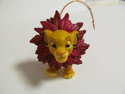 "SIMBA Lion King Disney , Groiler Ornament, 3"" tall by 4"" long"