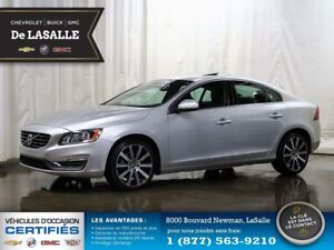 2014 Volvo S60 T6 AWD 1 owner