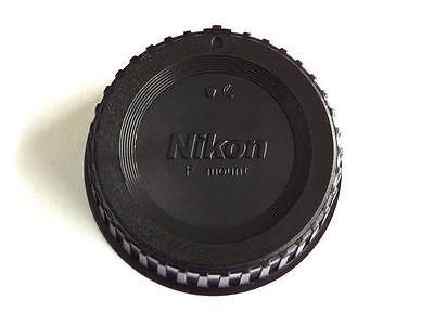 NIKON STYLE REAR LENS CAP COVER FOR ALL NIKON FILM OR DIGITAL SLR LENSES GENERIC