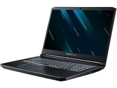 "Acer Predator Helios 300 PH317-53-77HB 17.3"" IPS Intel Core i7 9th Gen 9750H (2."