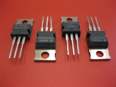 Frp1620cc 1620cc 16a 180v Ultra Fast Power Rectifier Diodes To-220 Qty 5