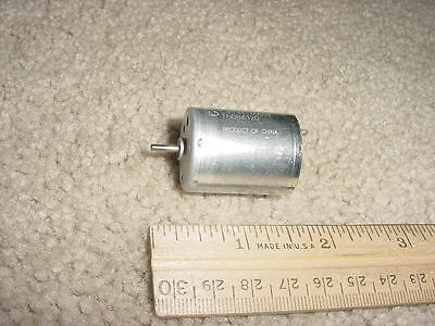 Small Dc Electric Motor 12 - 30 Vdc 4600 Rpm 190ma M75