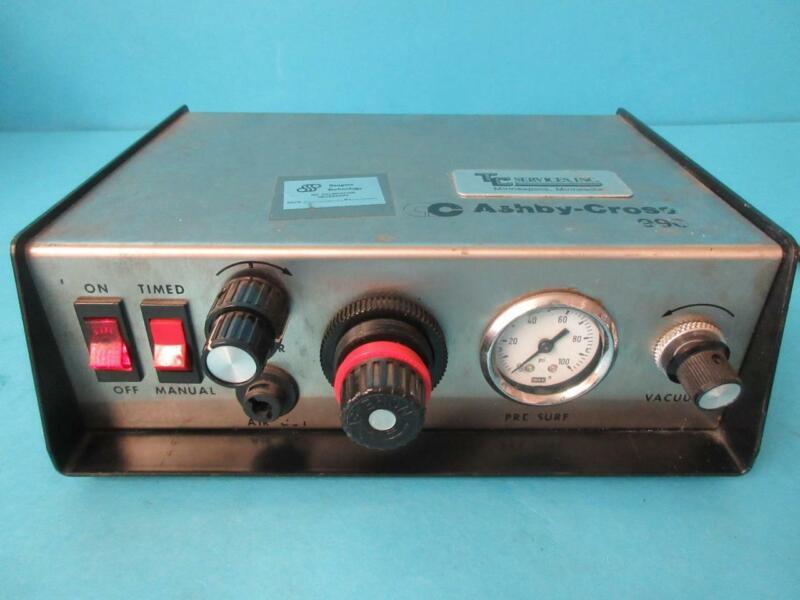 ASHBY-CROSS 990 DISPENSER DISPENSING UNIT CONTROL LAB LABORATORY USED