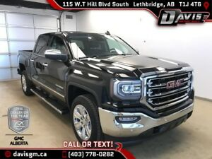 2016 GMC Sierra 1500 SLT 4WD, NAVIGATION, HEATED/COOLED LEATHER