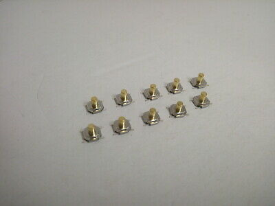 10x Pack Lot 4 X 4 X 4.3 Mm Push Touch Tactile Momentary Micro Button Switch Smd