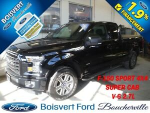 2016 Ford F-150 XLT SPORT 4X4 *MAGS 18''* V-6 2.7 L ECOBOOST