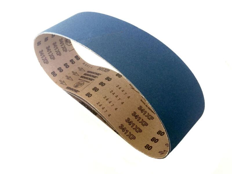 Sanding Belts 4 X 36 Zirconia Cloth Sander Belts, 6 Pack (60 Grit)